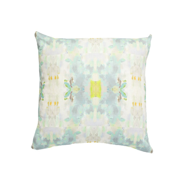 Coral Bay Green Linen Cotton Pillow