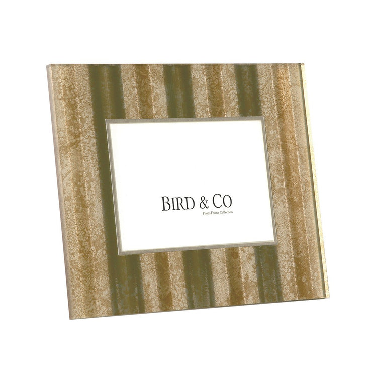 Gold Tin Roof Picture Frame, 4x6