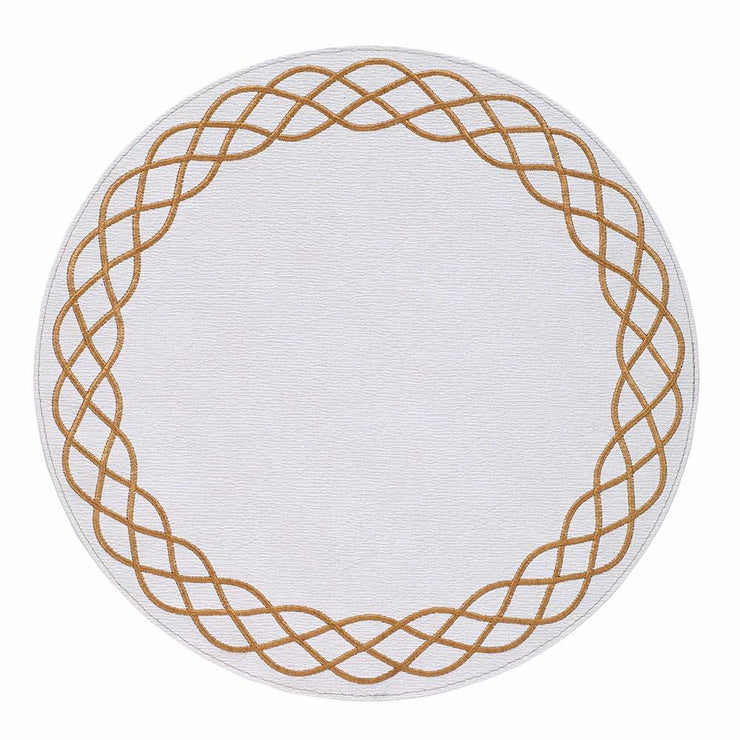 "Helix 15"" Round Placemat"