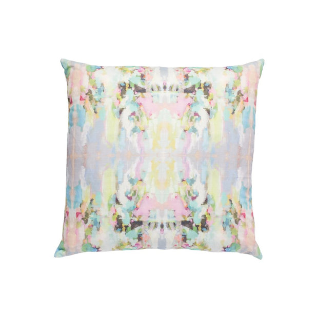 Lemonade Stand Linen Cotton Pillow