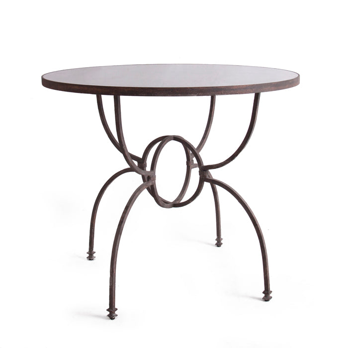 Orb Iron Base Table