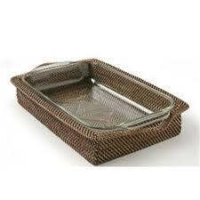 Rectangular Tray Holder with 4QT Baker