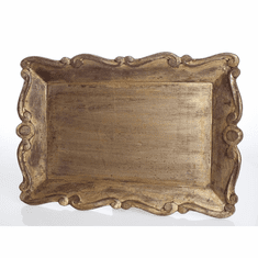 Vendome Tray with Scallop Edge