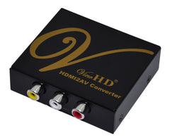 HDMI to Composite | AV Universal Converter for PAL & NTSC Standard TV | VHD-168