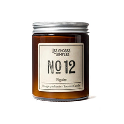 Figuier Scented Candle (Fig, 40 hrs)