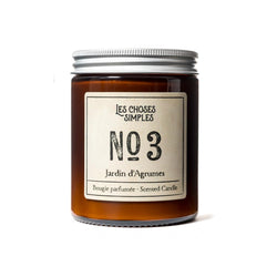 Jardin d'Agrumes Scented Candle (Grapefruit, 40 hrs)