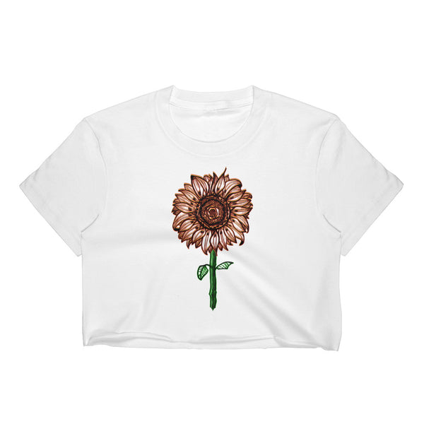 Sunflower - Crop Top