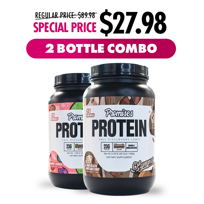Load image into Gallery viewer, Promises Protein Limited Edition 2 Bottle Combo