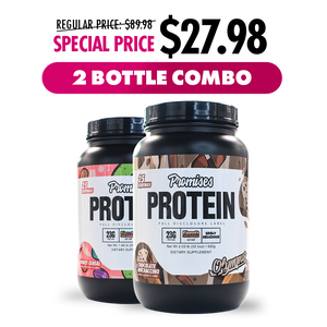 Promises Protein Limited Edition 2 Bottle Combo