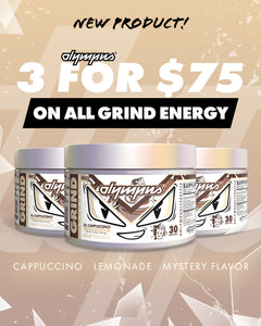 Grind Energy 3-Pack Bundle Deal