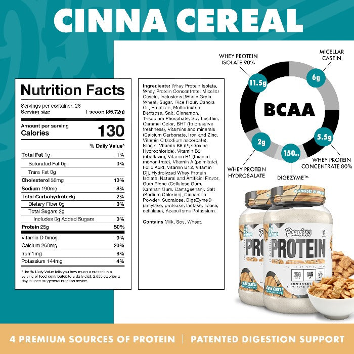 Load image into Gallery viewer, Promises Protein - Cinna Cereal