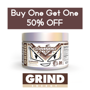 Grind Energy Buy One Get One 50% OFF