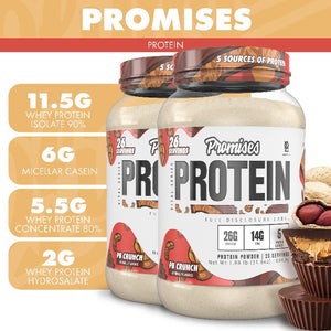 Promises Protein - PB Crunch