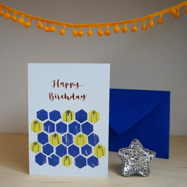 Birthday presents card