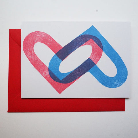 Double Heart Card - 2