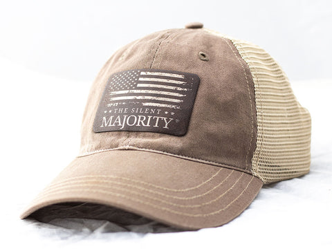 Flag and Brand Patch Hat