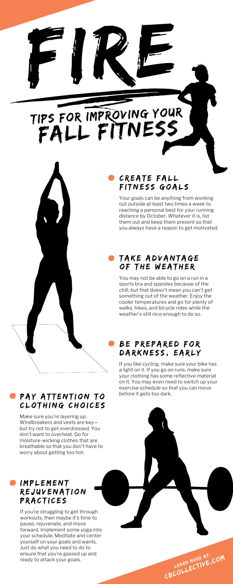 8 Fire Tips for Improving Your Fall Fitness