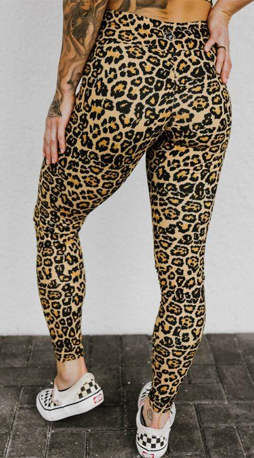OG High Rise Leggings in 'Rebel Leopard' - Celestial Bodiez Collective