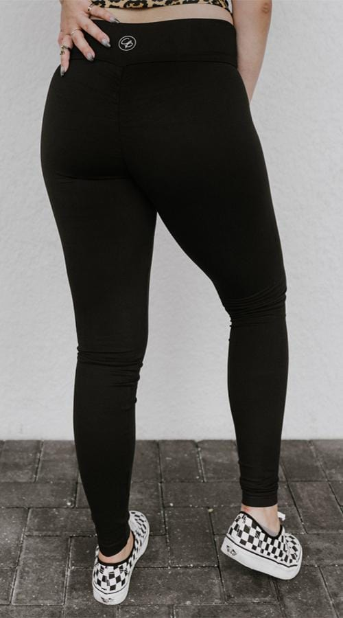 OG #Bootyscrunch legging in 'Lunar Black' - Celestial Bodiez Collective
