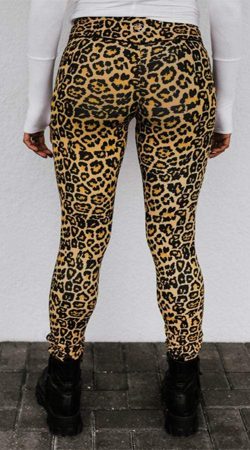 Power Joggers in 'Rebel Leopard' - Celestial Bodiez Collective