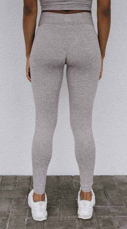 OG #Bootyscrunch Legging in 'Smoke Gray' - Celestial Bodiez Collective