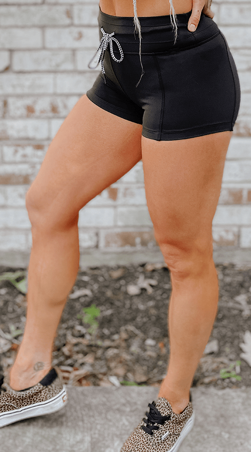 Hybrid #STREET Shorts in 'Classic Black' - Celestial Bodiez Collective