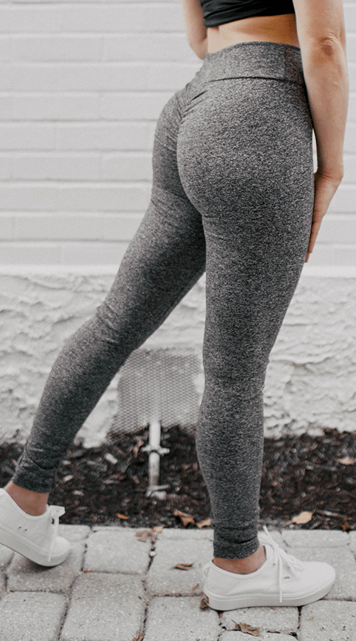 OG #Bootyscrunch Leggings in '50 Shades' - Celestial Bodiez Collective