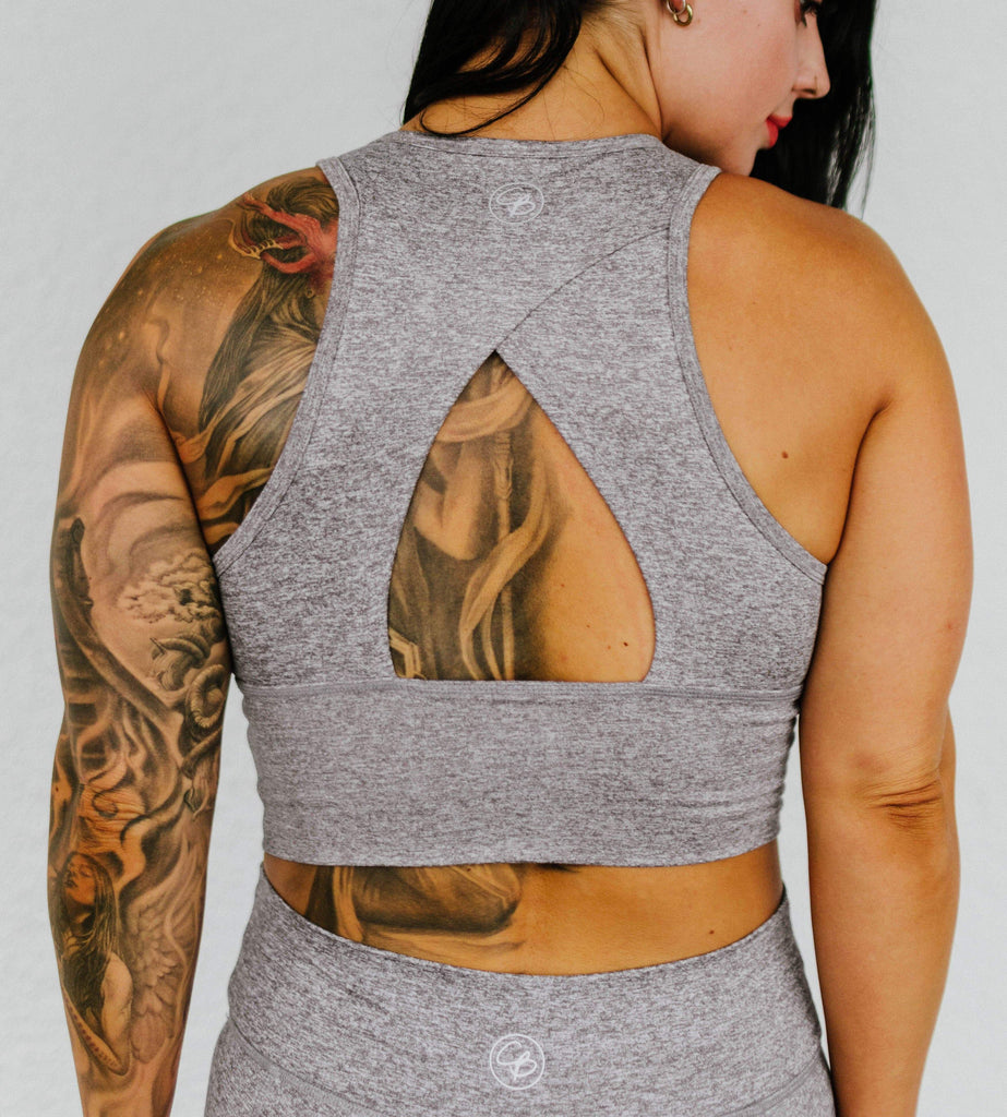 Power Tank in 'Smoke Gray' - Celestial Bodiez Collective