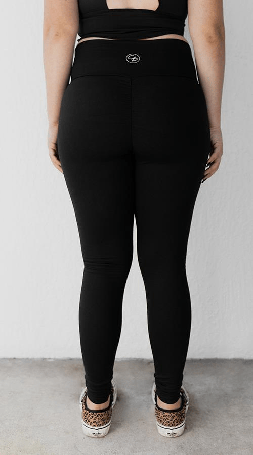 "OG Ultra High Rise Legging in ""Lunar Black' - Celestial Bodiez Collective"