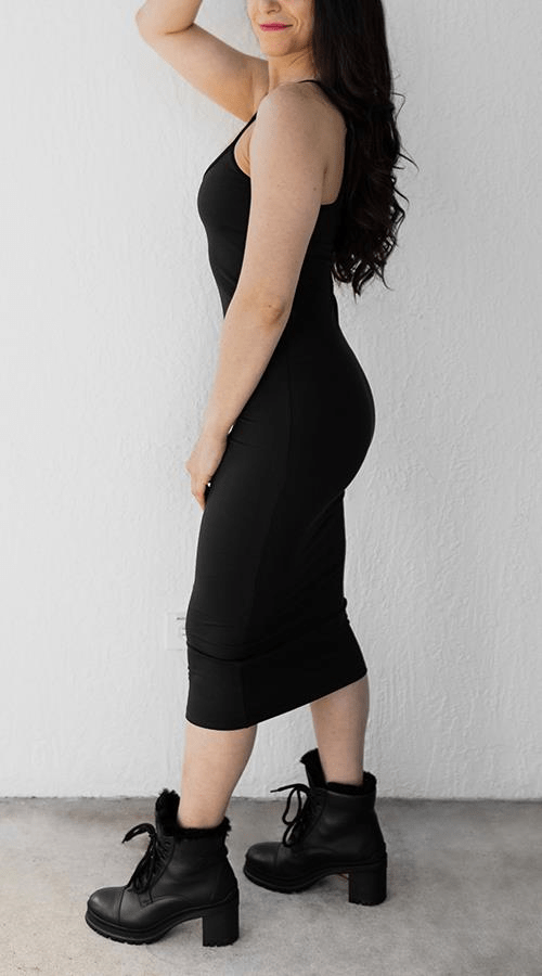 My Fav Dress in 'Lunar Black' - Celestial Bodiez Collective