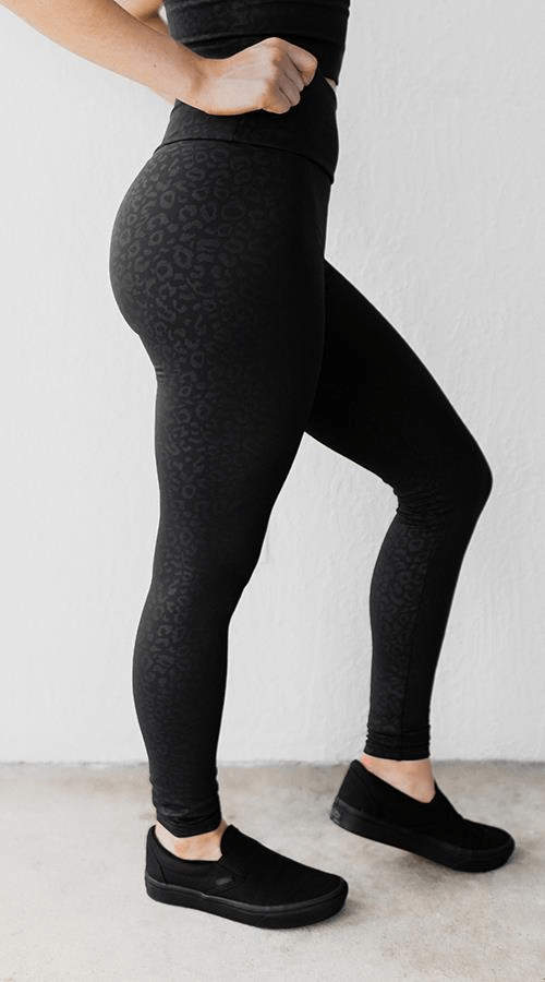 "OG Ultra High Rise Legging in ""Black Panther' - Celestial Bodiez Collective"