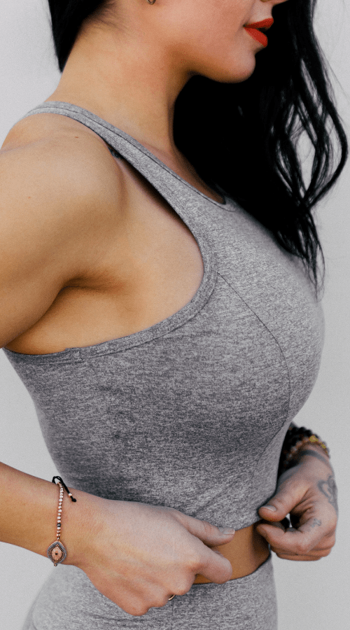 Riot Tank in 'Smoke Gray' - Celestial Bodiez Collective