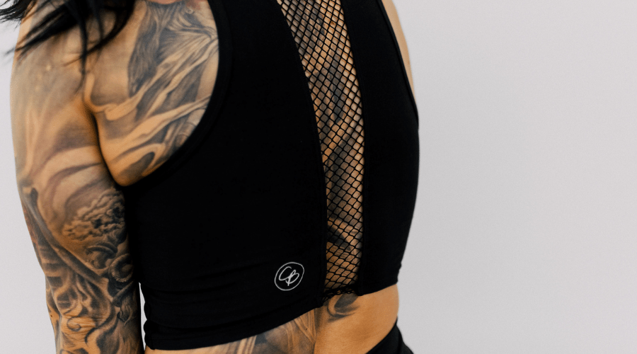 Riot Tank in 'Lunar Black' - Celestial Bodiez Collective