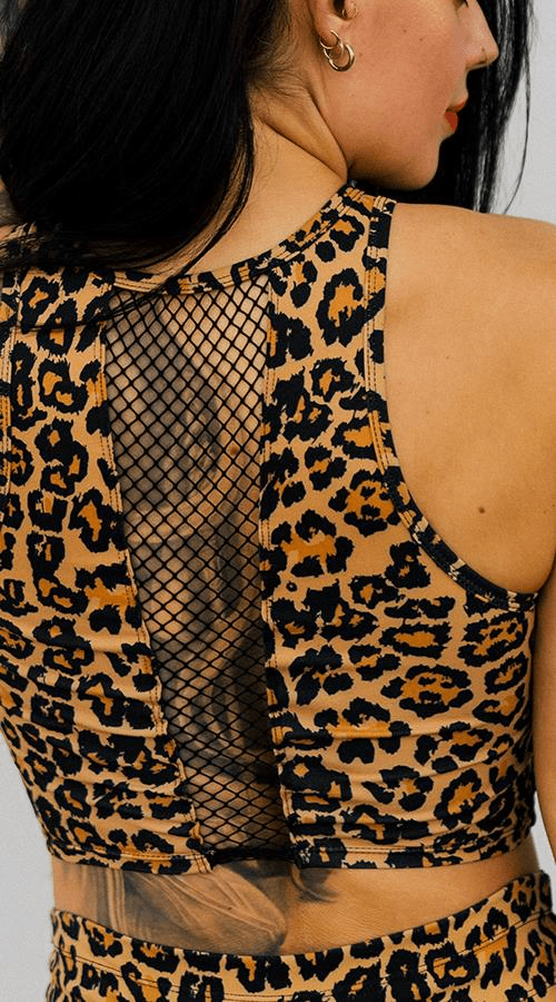 Riot Tank in 'Rebel Leopard' - Celestial Bodiez Collective