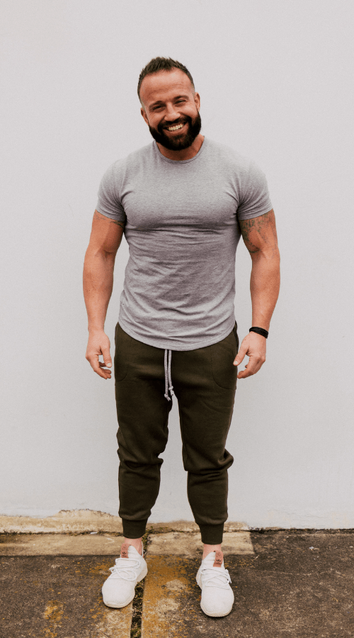 Sweats! But-make-it-Fashion Jogger in 'Olive Juice Green' - Celestial Bodiez Collective