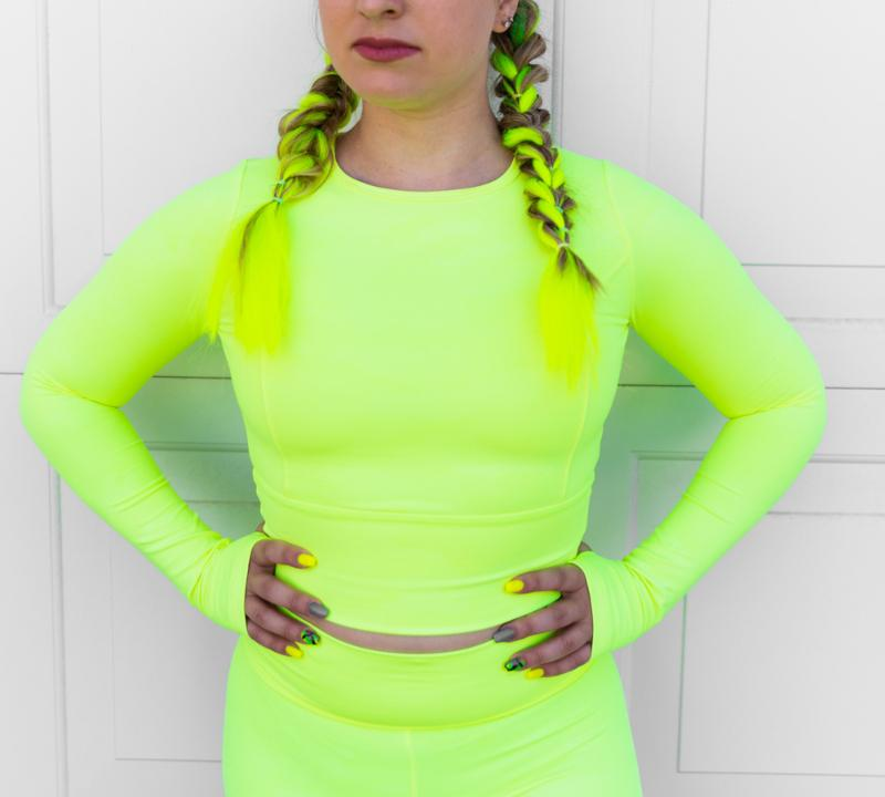 Rise to Power Top in 'Neon Tetra Camo' - Celestial Bodiez Collective