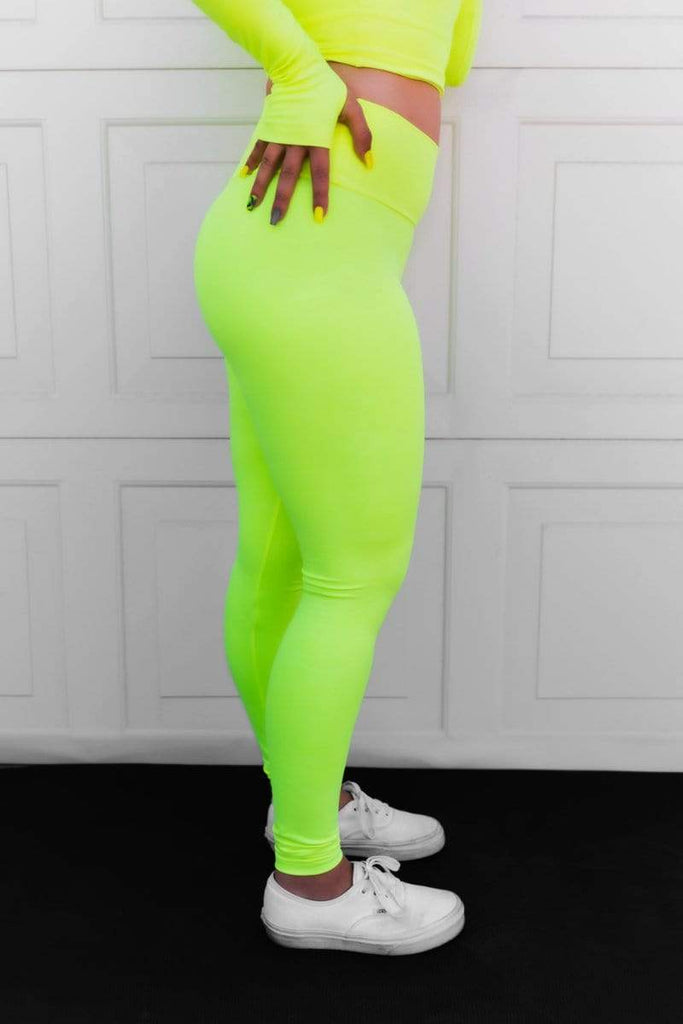 OG Ultra High Rise Leggings in 'Neon Tetra Camo' - Celestial Bodiez Collective