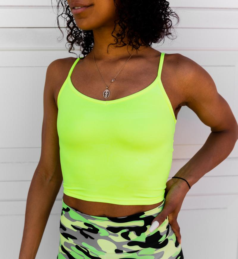 My Fav Tank in 'Neon Tetra Camo' - Celestial Bodiez Collective