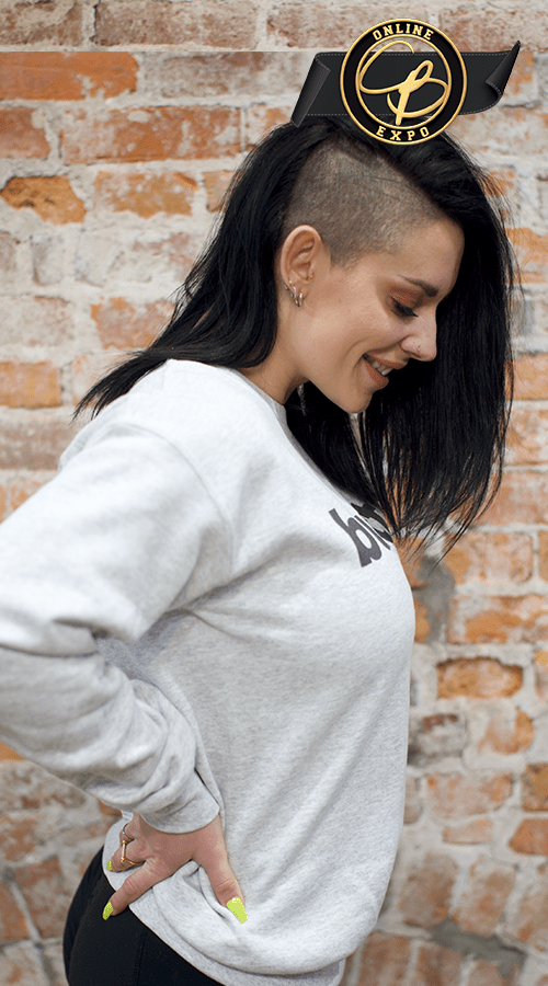 'butts' Unisex Sweatshirt in Ash gray - Celestial Bodiez Collective