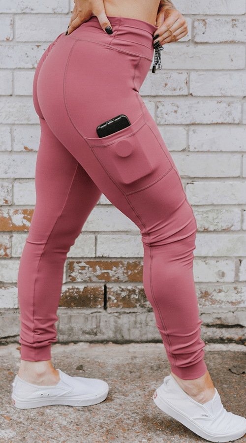 Hybrid #STREET Jogger in 'Rosé All Day' - Celestial Bodiez Collective