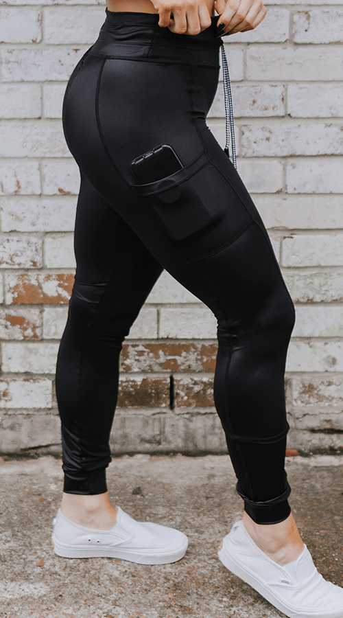 Hybrid #STREET Jogger in 'RAVEN' - Celestial Bodiez Collective