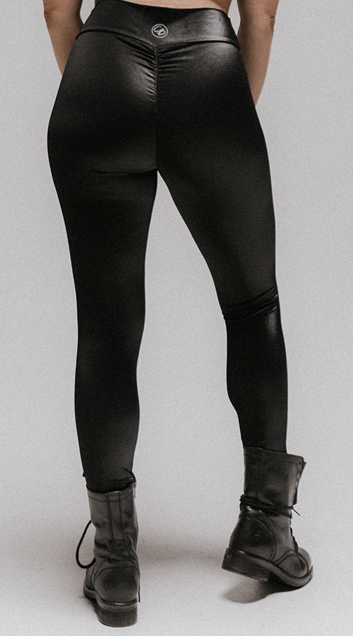 "High Rise #Bootyscrunch Leggings in ""Raven"" - Celestial Bodiez Collective"
