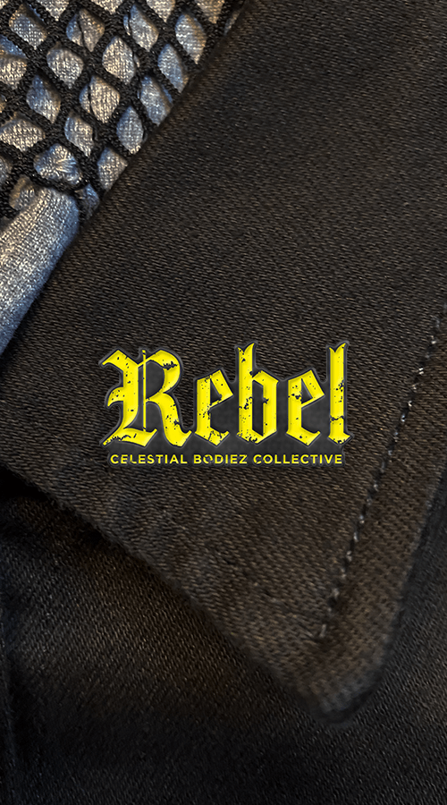 REBEL LAPEL PINS - Celestial Bodiez Collective