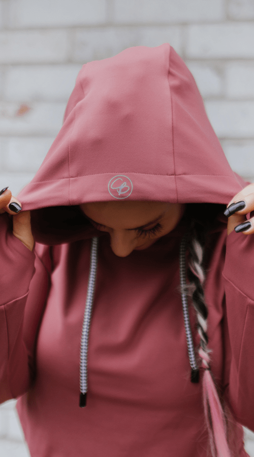#STREET Hoodie in 'Rosé All Day' - Celestial Bodiez Collective