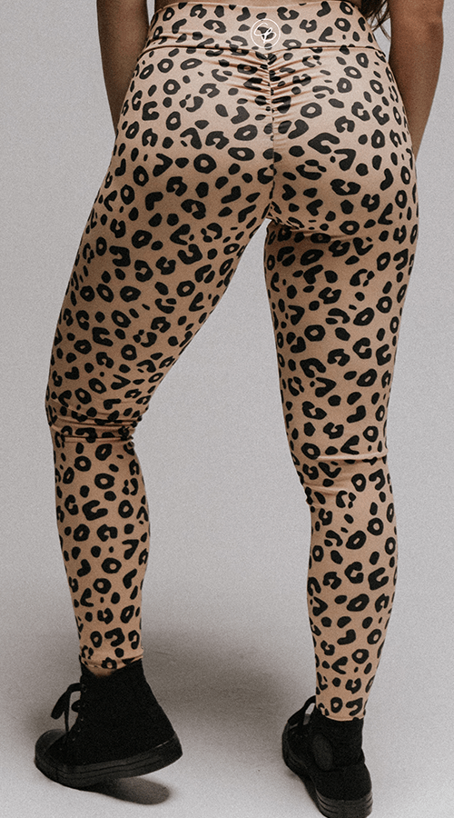 "High Rise #Bootyscrunch Leggings in ""Welcome to the Jungle"""