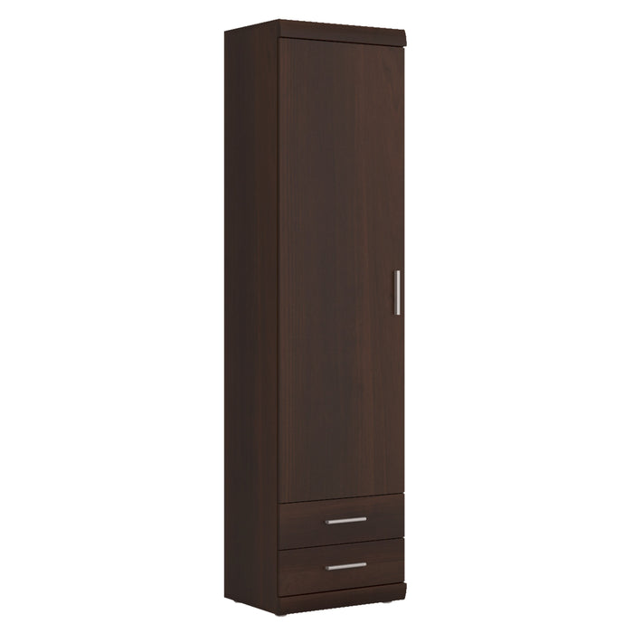 Imperial Tall 1 Door 2 Drawer Narrow Cabinet