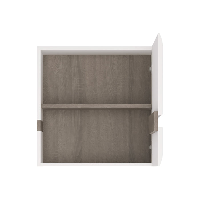Chelsea 1 door wall cupboard (front trim) White
