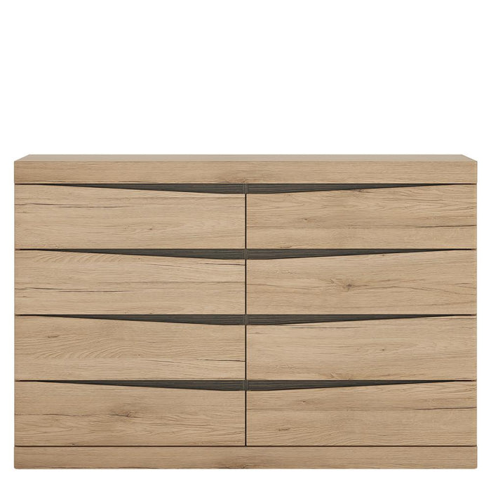 Kensington 4 + 4 Wide Chest of Drawers