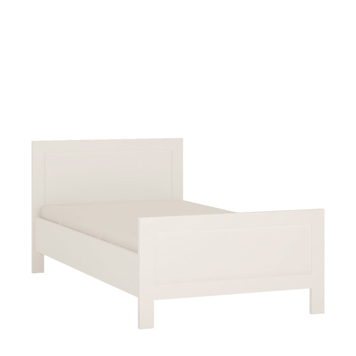 4 You Single bed 3FT White