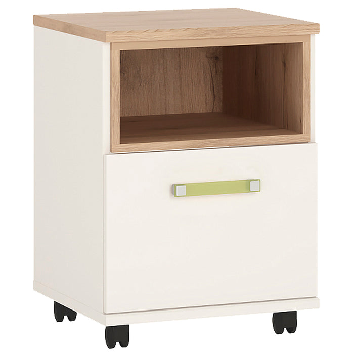 4Kids 1 Door Desk Mobile with Opalino Handles